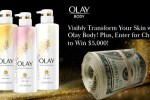 The Real Olay Body Sweepstakes
