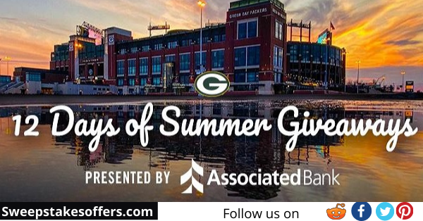 Green Bay Packers 12 Days of Summer Giveaways
