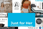 Linenspa Just For Her Summer Sweepstakes