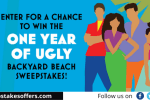 Simon & Schuster One Year of Ugly Sweepstakes