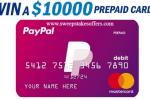 Mastercard Prepaid Card Sweepstakes