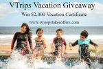 VTrips Vacation Giveaway
