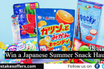 Japanese Summer Snack Haul Sweepstakes