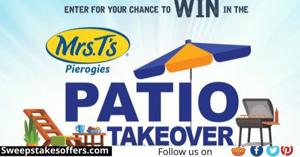 Mrs T's Patio Takeover Sweepstakes