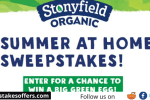 Stonyfield Summer at Home Sweepstakes