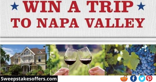 Sutter Home Winery Napa Sweepstakes