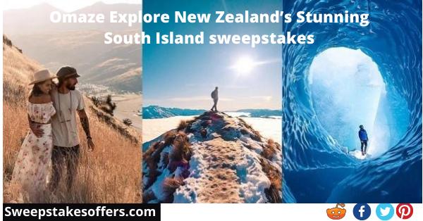 Omaze New Zealand Sweepstakes