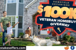 Home Field Advantage Veterans Home Giveaway