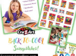 Cra Z Art Back to Cool Sweepstakes