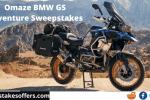 Omaze BMW GS Adventure Sweepstakes