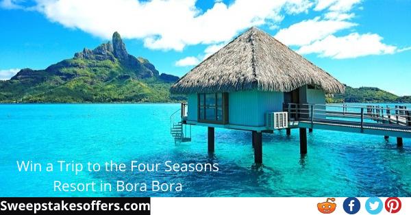 Omaze Bora Bora Getaway Giveaway