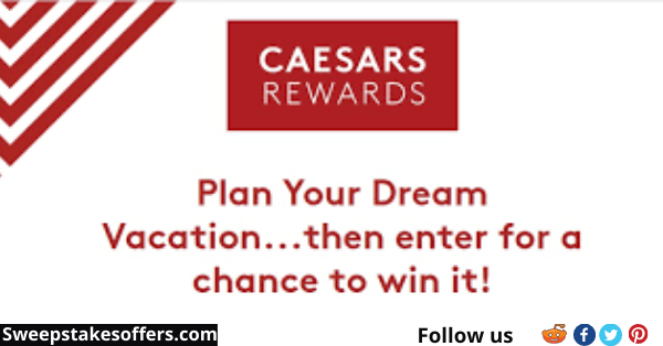 Caesars Rewards Gift of Travel Giveaway