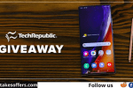TechRepublic Next Galaxy Note Sweepstakes