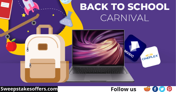 Huawei Back to School Carnival Contest
