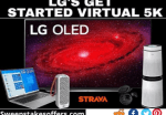 LG Get Started Virtual 5K Sweepstakes