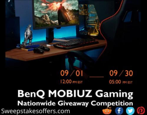 BenQ MOBIUZ Gaming Nationwide Giveaway