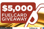 Lazydays $5000 Fuel Card Giveaway