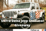 Jeep Gladiator Giveaway