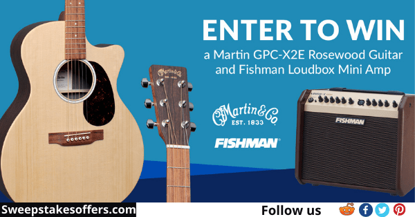 Martin Acoustic and Fishman Loudbox Mini Giveaway