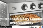 HamiltonBeach Air Fry Countertop Oven Giveaway