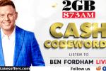 2GB Cash Codeword Contest