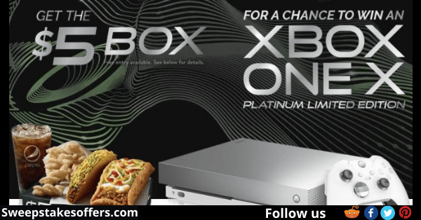 Tacobell Xbox Instant Win Game