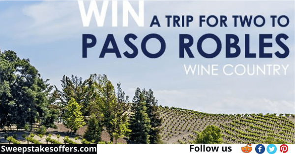 Paso Robles Vacation Giveaway
