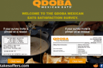 Qdoba Listens Customer Satisfaction Survey