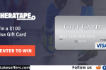 Theratape $100 Visa Gift Card Giveaway