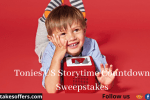 Tonies US Storytime Countdown Sweepstakes