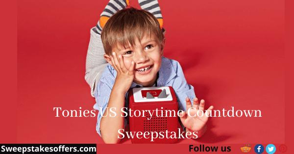 Tonies US Storytime Countdown Sweepstakes