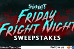SpiritHalloween Friday Fright Night Sweepstakes
