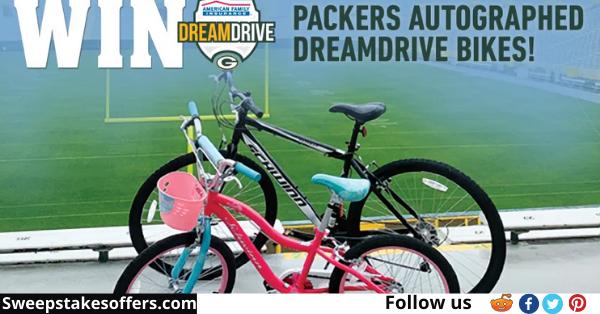 Green Bay Packers DreamDrive Bike Sweepstakes