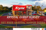 Krystal Guest Feedback Survey Sweepstakes