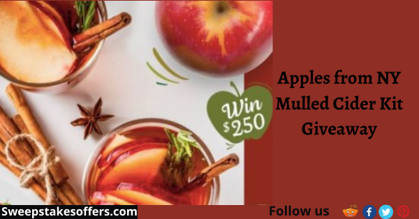Apples from NY Mulled Cider Kit Giveaway
