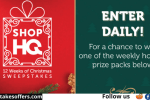 ShopHQ 12 Weeks of Christmas Sweepstakes