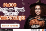 Frankly Media Trick-or-Treat Yourself Sweepstakes