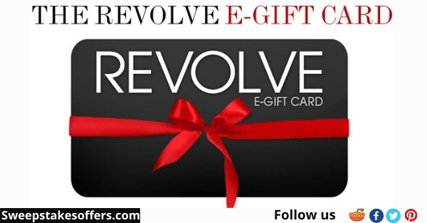 Revolve Product Review Sweepstakes