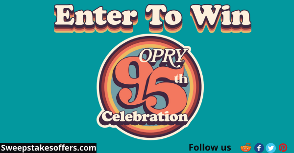 Opry 95th Celebration Sweepstakes