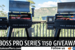 Pit Boss Pro Series 1150 Sweepstakes