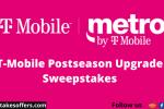 T-Mobile Postseason Upgrade Sweepstakes