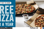 Score Free Dominos Pizza Quikly Giveaway