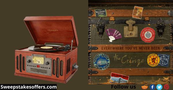The Cringe Turntable & Vinyl LP Giveaway