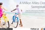 American Airlines Miles Closer Sweepstakes