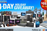 Sweetwater 24 Day Holiday Gear Giveaway