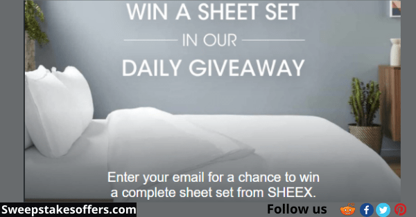 SHEEX Holiday 2020 Daily Giveaway