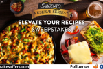 Sargento Recipe Wheel Sweepstakes