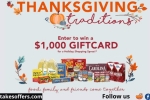 Bravo Super Markets Thanksgiving Sweepstakes
