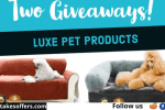 Luxe Pet Products Dog Bed Giveaway