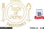 ION Television Taste of Home Sweepstakes
